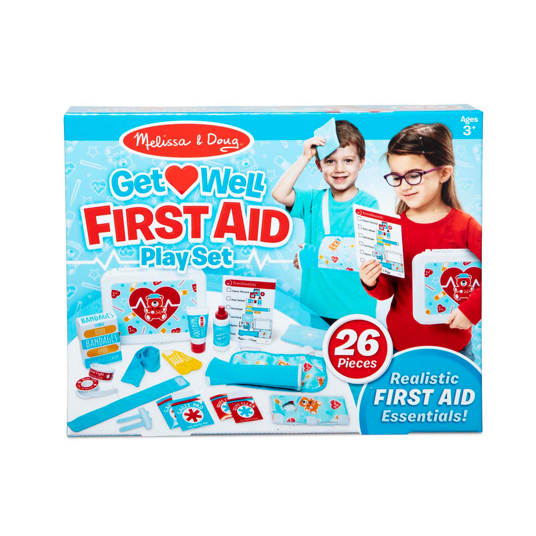 Melissa and Doug Get Well First Aid Kit Play Set