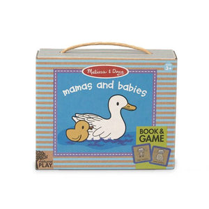 Melissa and Doug Natural Play Book & Game: Mamas & Babies - All-Star Learning Inc. - Proudly Canadian