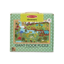 Melissa and Doug Natural Play Floor Puzzle: Dinosaurs - All-Star Learning Inc. - Proudly Canadian