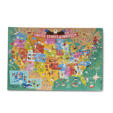 Melissa and Doug Natural Play Floor Puzzle: America the Beautiful - All-Star Learning Inc. - Proudly Canadian