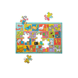 Melissa and Doug Natural Play Floor Puzzle: ABC Animals - All-Star Learning Inc. - Proudly Canadian