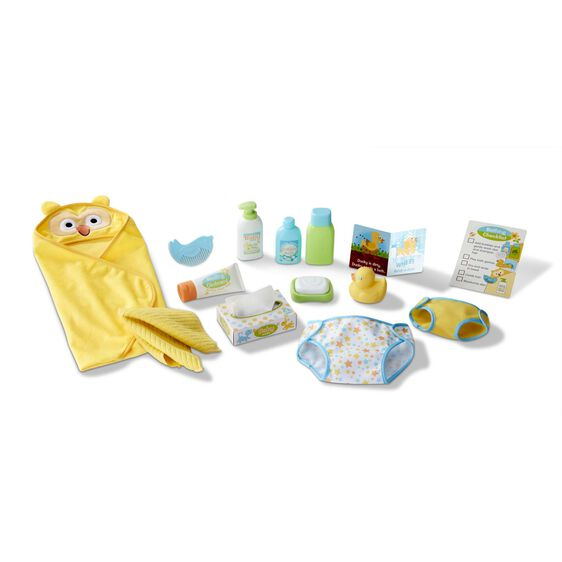 Melissa and Doug Mine to Love Changing & Bathtime Play Set