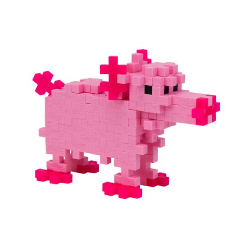 Plus-Plus Tube - Pig - All-Star Learning Inc. - Proudly Canadian