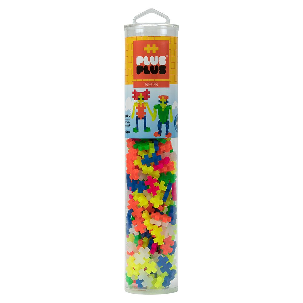 Plus-Plus Tube Neon - 240pcs - All-Star Learning Inc. - Proudly Canadian