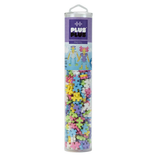 Plus-Plus Tube Pastel - 240pcs - All-Star Learning Inc. - Proudly Canadian