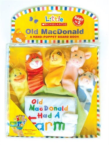 Little Scholastic: Old MacDonald Hand Puppet Board Book - All-Star Learning Inc. - Proudly Canadian