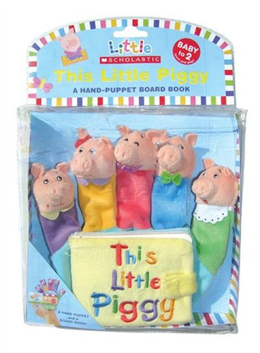 Little Scholastic: This Little Piggy Hand Puppet Board Book - All-Star Learning Inc. - Proudly Canadian
