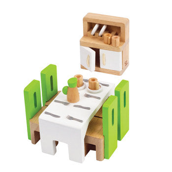 Hape Dining Room Dollhouse Furniture - All-Star Learning Inc. - Proudly Canadian