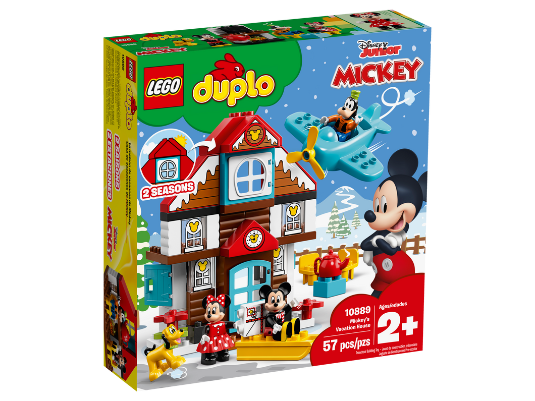 LEGO DUPLO Mickey's Vacation House - All-Star Learning Inc. - Proudly Canadian
