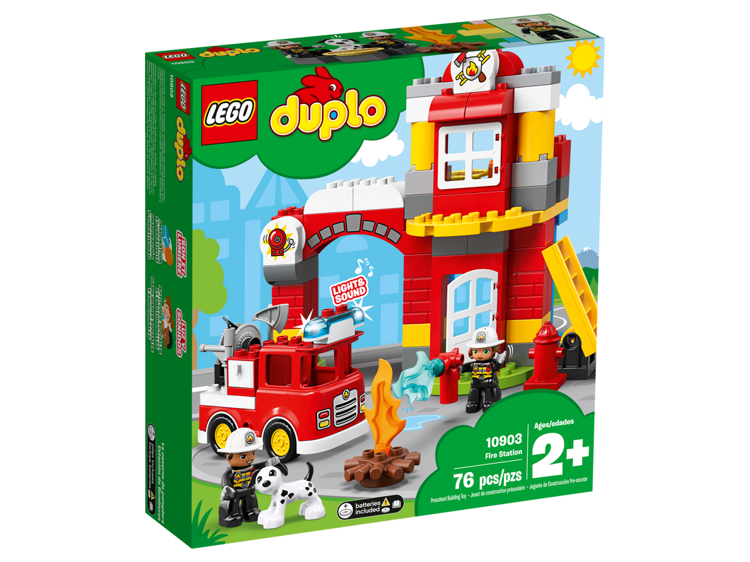 LEGO DUPLO Fire Station - All-Star Learning Inc. - Proudly Canadian