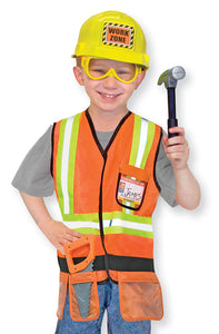 Melissa and Doug Construction Worker Role Play Costume Set - All-Star Learning Inc. - Proudly Canadian