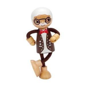 Hape Modern Family - Grandpa - All-Star Learning Inc. - Proudly Canadian