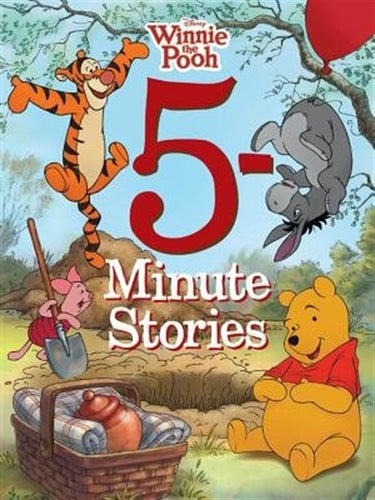 Disney 5-Minute Winnie the Pooh Stories (5-Minute Stories) - All-Star Learning Inc. - Proudly Canadian