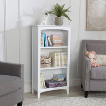 KidKraft Avalon Three-Shelf Bookcase - White