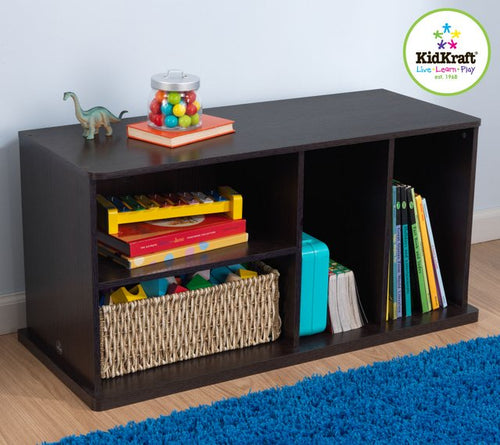 KidKraft Espresso Add On Storage Unit - All-Star Learning Inc. - Proudly Canadian