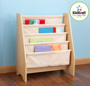 KidKraft Natural Sling Bookshelf - All-Star Learning Inc. - Proudly Canadian
