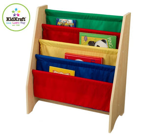 KidKraft Primary Sling Bookshelf - All-Star Learning Inc. - Proudly Canadian