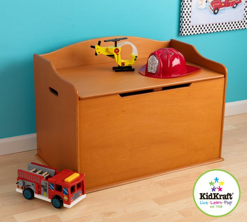 KidKraft Austin Toy Box in Honey - All-Star Learning Inc. - Proudly Canadian