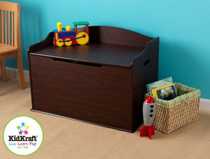 KidKraft Austin Toy Box in Espresso - All-Star Learning Inc. - Proudly Canadian