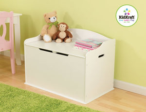 KidKraft Austin Toy Box in Vanilla - All-Star Learning Inc. - Proudly Canadian