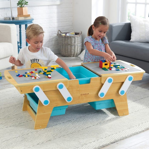 KidKraft Building Bricks Play n Store Stable - All-Star Learning Inc. - Proudly Canadian