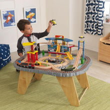 KidKraft Transportation Station Train Set & Table - All-Star Learning Inc. - Proudly Canadian