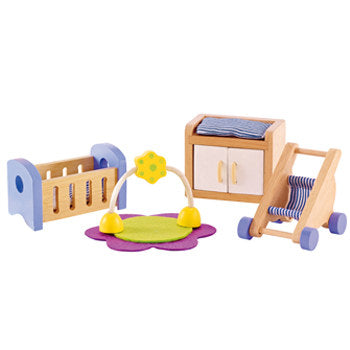 Hape Baby's Room Dollhouse Furniture - All-Star Learning Inc. - Proudly Canadian