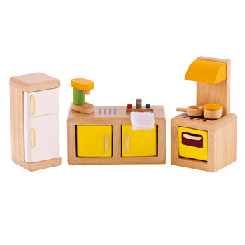 Hape Kitchen Dollhouse Furniture - All-Star Learning Inc. - Proudly Canadian