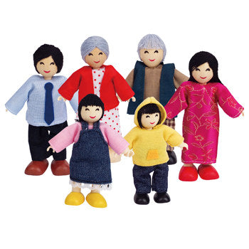 Hape Happy Family - Asian - All-Star Learning Inc. - Proudly Canadian