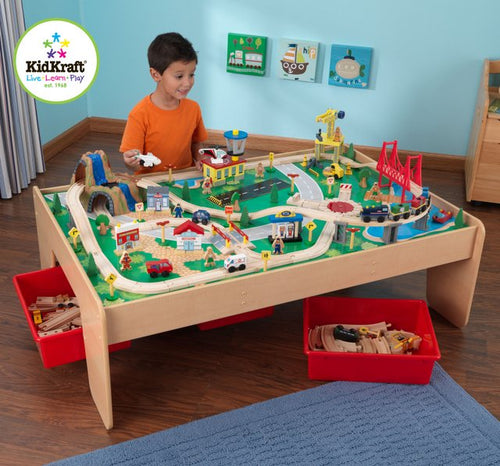 KidKraft WaterFall Mountain Train Set - All-Star Learning Inc. - Proudly Canadian