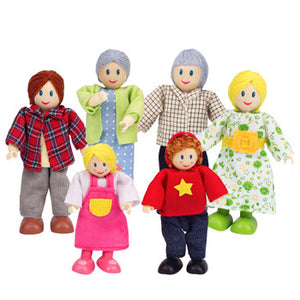 Hape Happy Family - Caucasian - All-Star Learning Inc. - Proudly Canadian