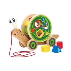 Hape Walk-A-Long Snail - All-Star Learning Inc. - Proudly Canadian