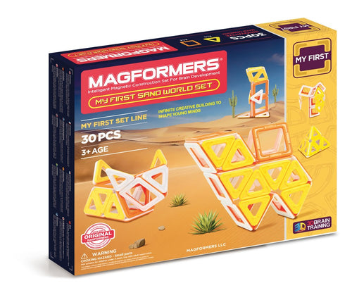 Magformers - My First Sand World - All-Star Learning Inc. - Proudly Canadian