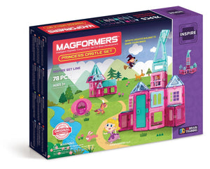 Magformers - 78 PC Princess Castle Set - All-Star Learning Inc. - Proudly Canadian