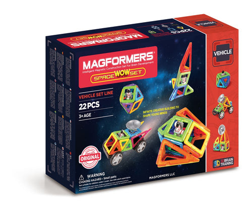 Magformers - 22 PCs Space Wow Set - All-Star Learning Inc. - Proudly Canadian