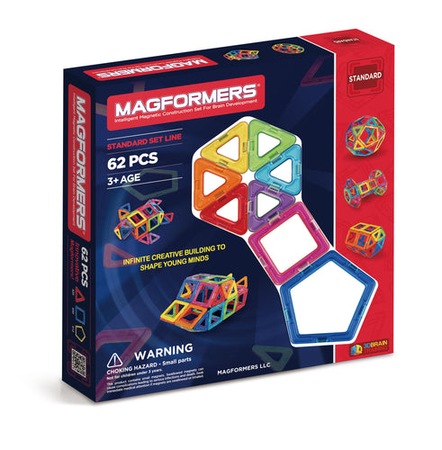 Magformers - 62 Piece Extreme FX Set - All-Star Learning Inc. - Proudly Canadian