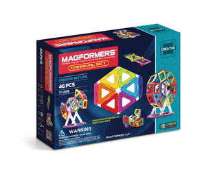 Magformers - 46 Piece Carnival Set - All-Star Learning Inc. - Proudly Canadian