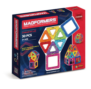 Magformers - 30 Piece Rainbow - All-Star Learning Inc. - Proudly Canadian