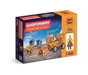 Magformers - 37 Pcs Construction Cruiser - All-Star Learning Inc. - Proudly Canadian