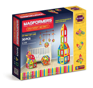 Magformers - My First 30 PC Set - All-Star Learning Inc. - Proudly Canadian