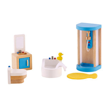 Hape Family Bathroom Dollhouse Furniture - All-Star Learning Inc. - Proudly Canadian