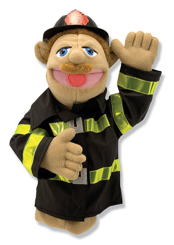 Melissa and Doug Firefighter Puppet - All-Star Learning Inc. - Proudly Canadian