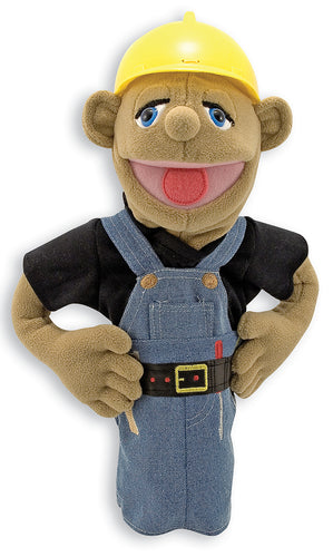Melissa and Doug Construction Worker Puppet - All-Star Learning Inc. - Proudly Canadian