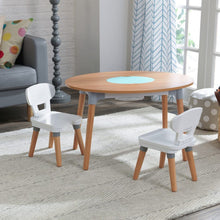 KidKraft Mid-Century Kid Toddler Table & 2 Chair Set