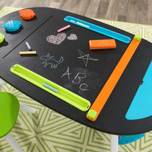 KidKraft Deluxe Chalkboard Art Table With Stools