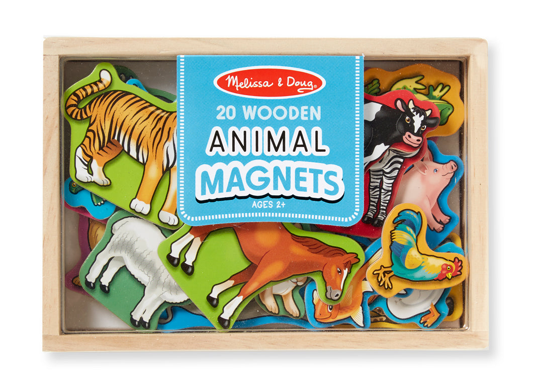 Melissa and Doug Wooden Animal Magnets - All-Star Learning Inc. - Proudly Canadian