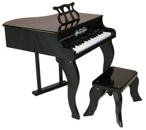 Schoenhut 30 Keys Fancy Baby Grand Piano - Black - All-Star Learning Inc. - Proudly Canadian
