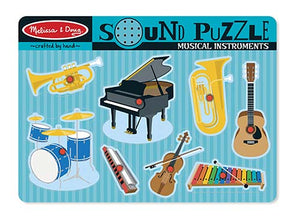 Melissa and Doug Musical Instruments Sound Puzzle - All-Star Learning Inc. - Proudly Canadian