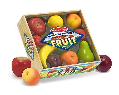 Melissa and Doug Play-time Produce Fruit - Play Food - All-Star Learning Inc. - Proudly Canadian