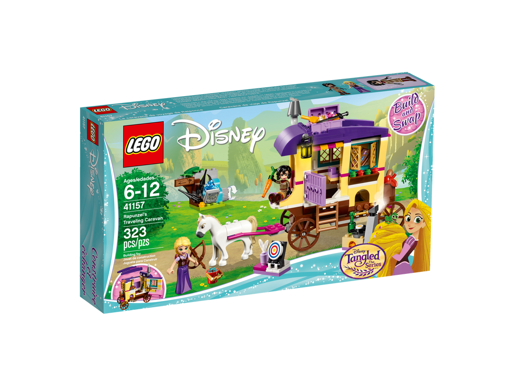 LEGO Rapunzel's Traveling Caravan - All-Star Learning Inc. - Proudly Canadian